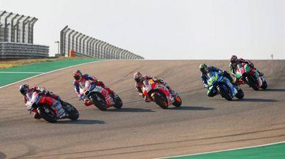 MotoGp Aragon 2018 (Ansa)