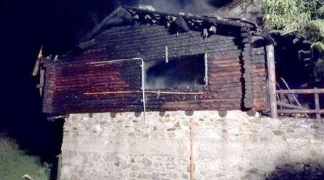 L'abitazione interessata dall'incendio (Anp)