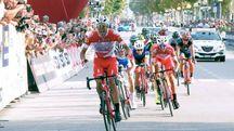 Memorial Pantani, la vittoria di Ballerini (foto Ravaglia)