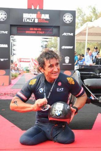 Alex Zanardi batte il record raggiunto lo scorso anno a Barcellona