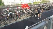Si passa alla bicicletta (foto Degidi-Bedeschi)
