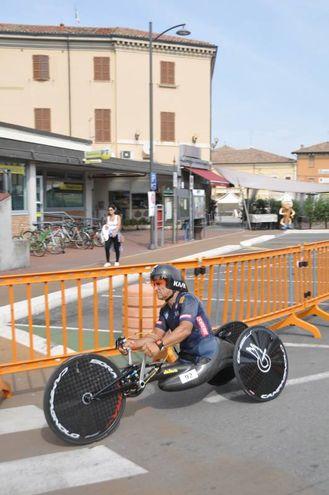 Zanardi in pista (foto Frasca)