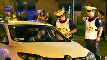 Controlli della polizia (Foto di repertorio)