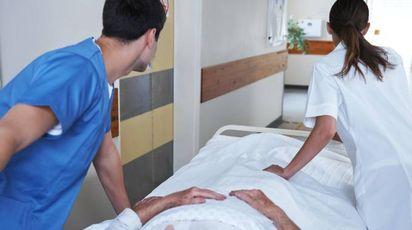 L'uomo è stato ricoverato per due volte all'ospedale di Pescia, ad aprile e a novembre dello scorso anno