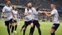 L'esultanza dell'Inter (LaPresse)