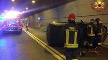 L'incidente nella galleria per La Spezia