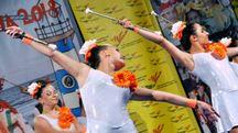Festival Le spiagge d'Italia, le majorette (Foto Concolino)