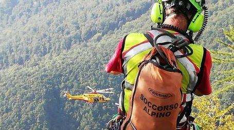 I soccorritori del Soccorso alpino