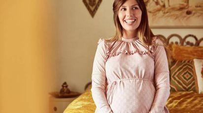Bianca Balti, ecco la sua collezione premaman: cuore green e sapore vintage