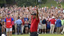 Tiger Woods torna al successo (Ansa)