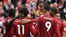 Esultanza Liverpool