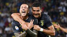 Bernardeschi e Ronaldo, gli uomini decisivi per la Juventus a Frosinone