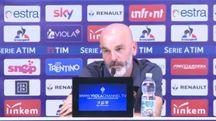 Stefano Pioli in conferenza stampa prima di Inter-Fiorentina