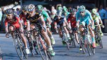 Giro d'Italia in una foto d'archivio Dire