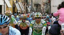 Giro d'Italia a Ravenna in una foto d'archivio Zani