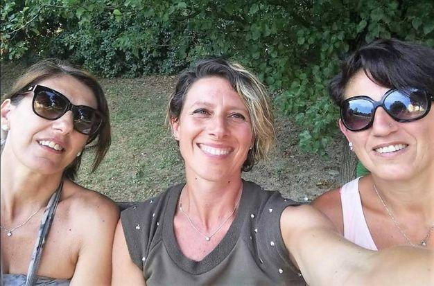 da sinistra Mosi, Baldi e Andreola