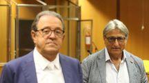 L'avvocato Domenico di Terlizzi e Giuseppe Musca (Zani)