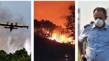 L'incendio del Monte Serra ha distrutto 600 ettari di vegetazione