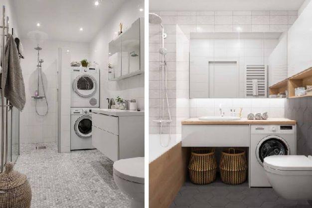 Come ricavare la lavanderia in bagno magazine tempo libero
