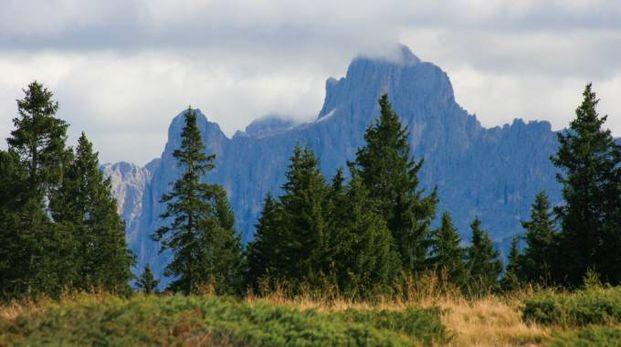 Paesaggio alpino in una foto L.Gallitto