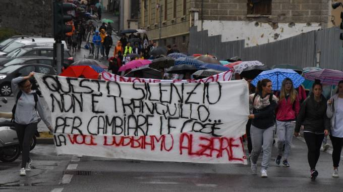 Marcia studenti Gazzaniga-Bergamo