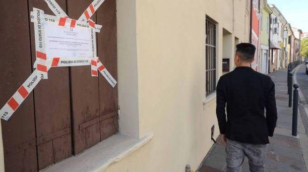 Rovigo, la casa d'appuntamenti posta sotto sequestro preventivo (Foto Donzelli)