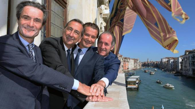 I sindaci e i governatori a Palazzo Balbi