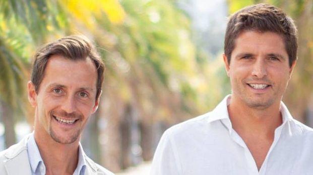 Francesco Pelosi e Nicholas Figoli di Sun-Times