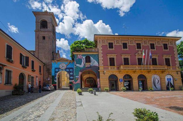 Il borgo di Dozza (Bologna)