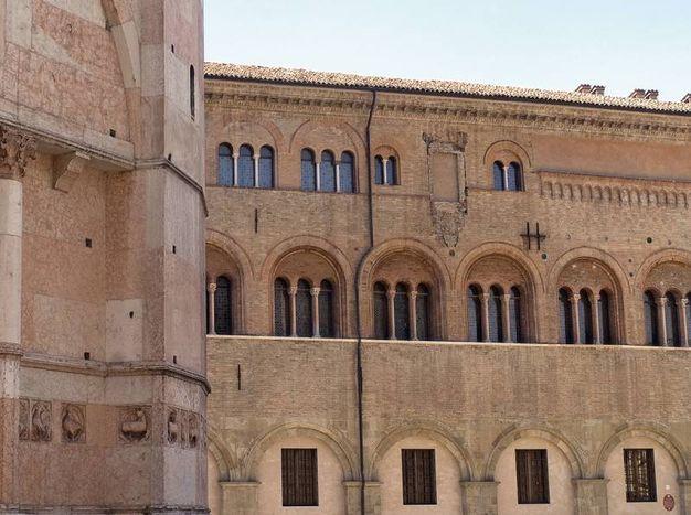 Palazzo vescovile a Parma