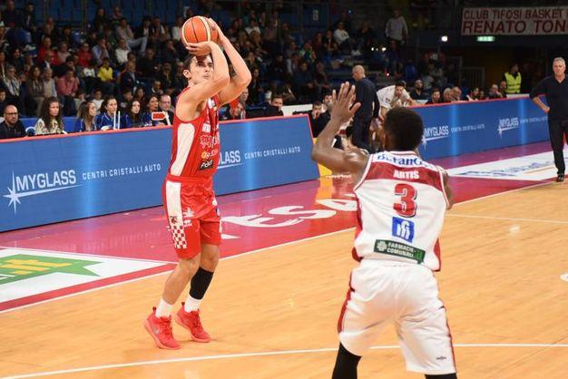 Libertas Pesaro-Oriora Pistoia. Legabasket Serie A (Ciamillo & Castoria/M. Ciaramicoli)