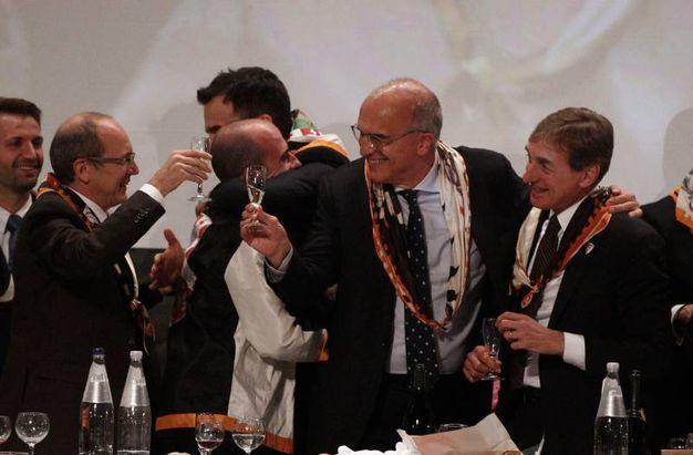 Cena della vittoria della LUpa (Foto Lazzeroni)