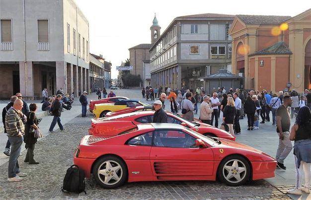 Con questo evento si celebra il simbolo che lega Lugo alle rosse di Maranello (Scardovi)