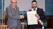 Conferimento del Premio 'Francesco Baracca 2018' al professor Alberto Bucchi (Scardovi)