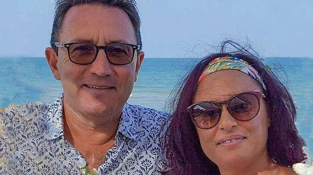 Renato Dini con la moglie Mariagrazia