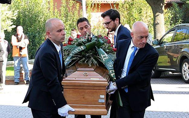 I funerali di Alessandro Antonioli, morto a 24 anni mentre era al cinema (Fotoprint)