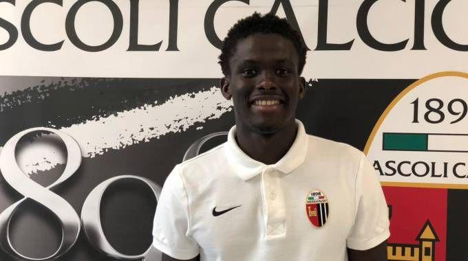Ascoli Calcio, il 20enne bianconero Keba Coly