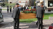 Borgo Pace, il funerale di Mariagrazia Faggiolini (Fotoprint)
