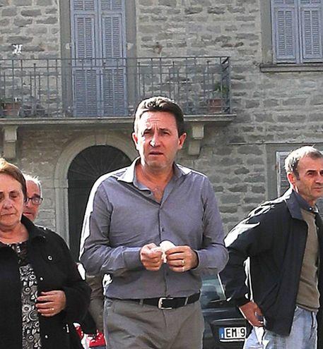 A salutarla c'era anche il marito Renato Dini (Fotoprint)