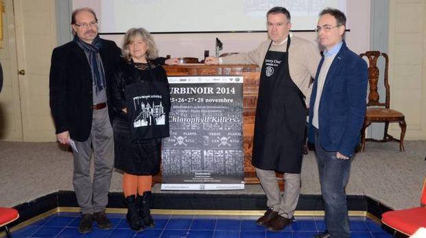 La cerimonia inaugurale di Urbinoir