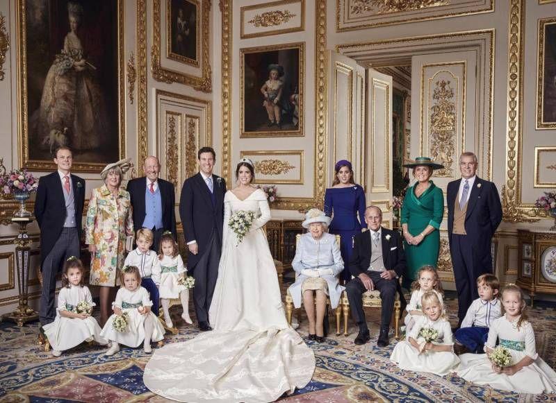 Risultati immagini per Matrimonio Eugenia di York, baby Mia ruba (ancora) la scena. Ecco le 4 foto ufficiali foto