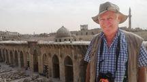 Il professor Gabriele Fangi ad Aleppo