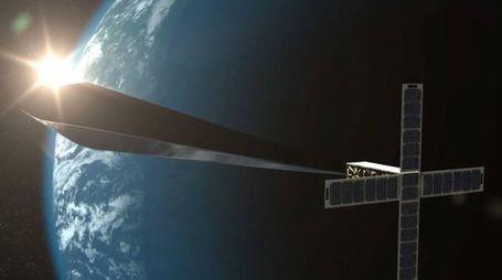 Un modello dell'opera d'arte (www.orbitalreflector.com)