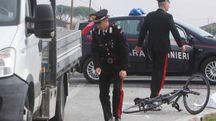 TRAGEDIA I carabinieri sul posto