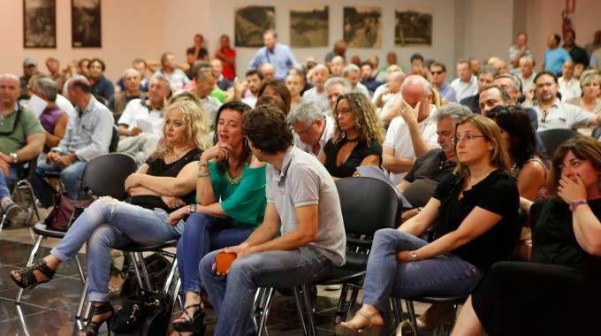 Imola (Bologna), l'assemblea della Cesi (Foto Isolapress)