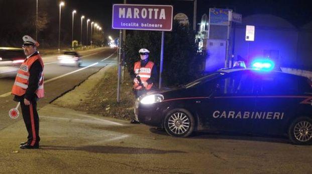 Marotta (Pesaro e Urbino), i carabinieri in azione