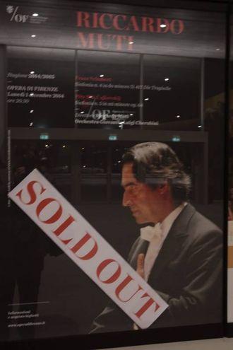 Concerto 'sold out' (foto Gianluca Moggi/ New Press Photo)