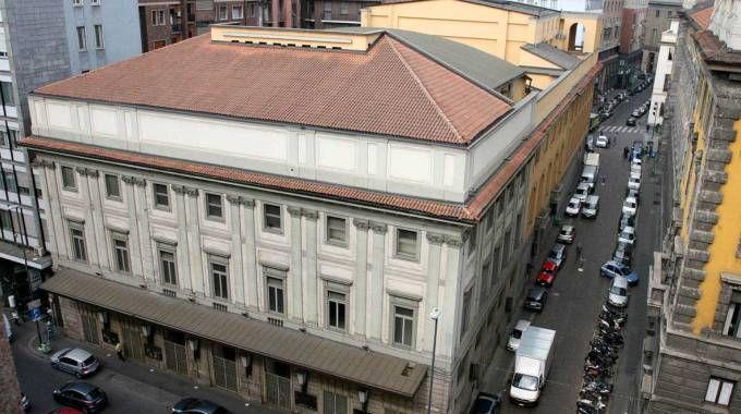 Il teatro Lirico di Milano Giorgio Gaber