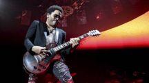 Lenny Kravitz in concerto (foto LaPresse)