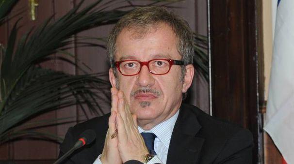 Il presidente della Regione Lombardia Roberto Maroni